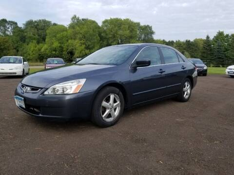 2003 Honda Accord for sale at Shores Auto in Lakeland Shores MN