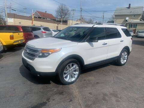 2013 Ford Explorer for sale at Richland Motors in Cleveland OH