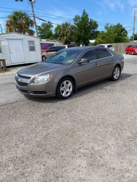 2012 Chevrolet Malibu for sale at Lucky Motors in Panama City FL