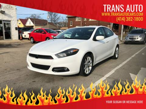 2013 Dodge Dart for sale at Trans Auto in Milwaukee WI