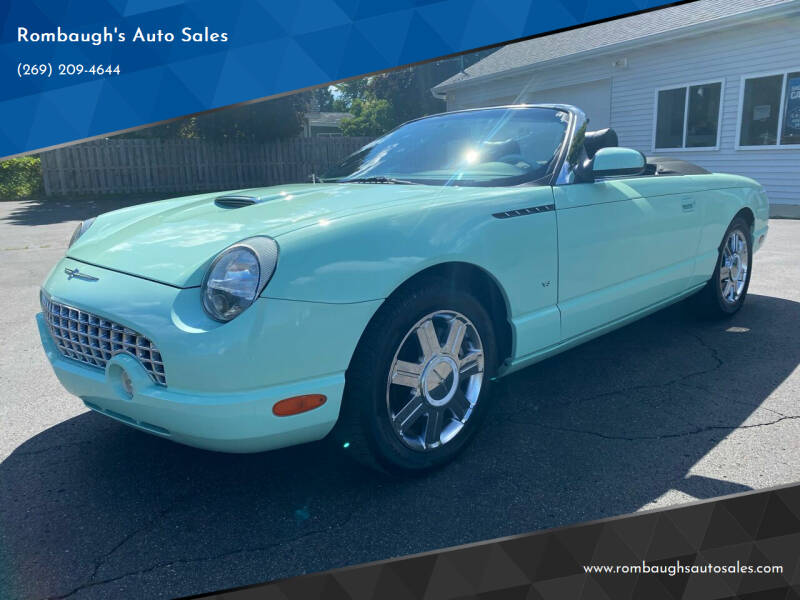2004 Ford Thunderbird for sale at Rombaugh's Auto Sales in Battle Creek MI