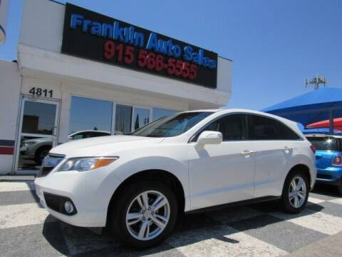 2013 Acura RDX for sale at Franklin Auto Sales in El Paso TX