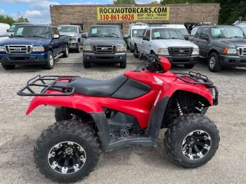 2013 Honda TRX 500 FPE for sale at ROCK MOTORCARS LLC in Boston Heights OH