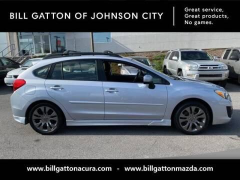 2014 Subaru Impreza for sale at Bill Gatton Used Cars - BILL GATTON ACURA MAZDA in Johnson City TN