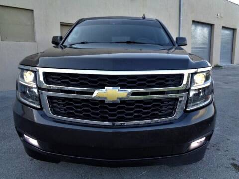 2015 Chevrolet Suburban for sale at Selective Motor Cars in Miami FL