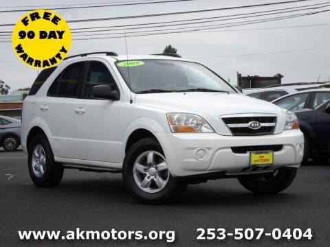 2009 Kia Sorento for sale at AK Motors in Tacoma WA