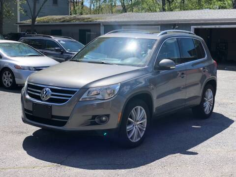 2011 Volkswagen Tiguan for sale at Emory Street Auto Sales and Service in Attleboro MA