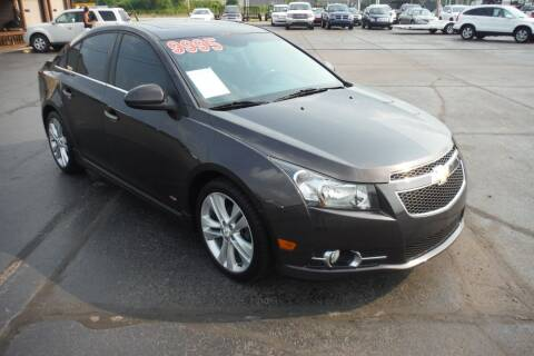 2014 Chevrolet Cruze for sale at Bryan Auto Depot in Bryan OH