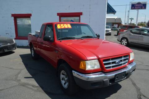 2001 Ford Ranger for sale at CARGILL U DRIVE USED CARS in Twin Falls ID