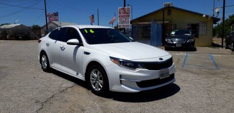 2016 Kia Optima for sale at Autosales Kingdom in Lancaster CA