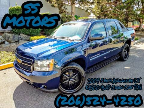 2007 Chevrolet Avalanche for sale at SS MOTORS LLC in Edmonds WA