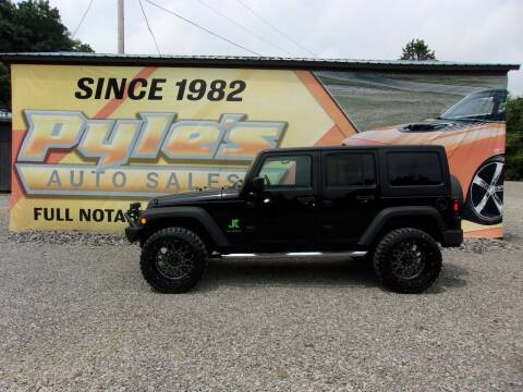 2017 Jeep Wrangler Unlimited for sale at Pyles Auto Sales in Kittanning PA