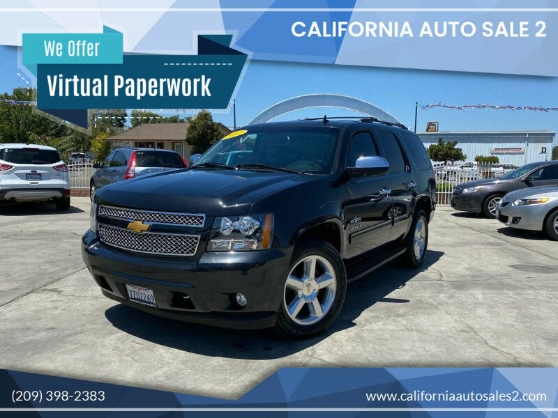 2012 Chevrolet Tahoe for sale at CALIFORNIA AUTO SALE 2 in Livingston CA