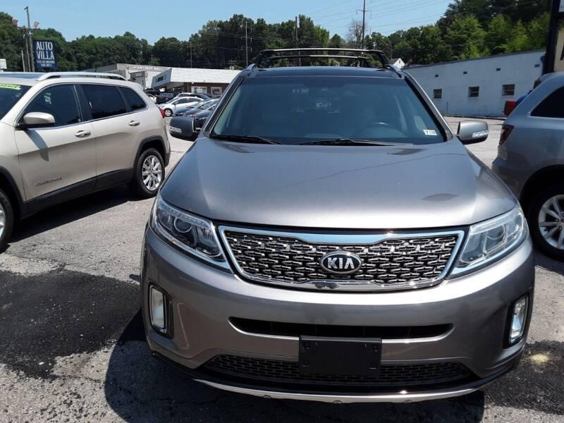 2015 Kia Sorento for sale at Auto Villa in Danville VA