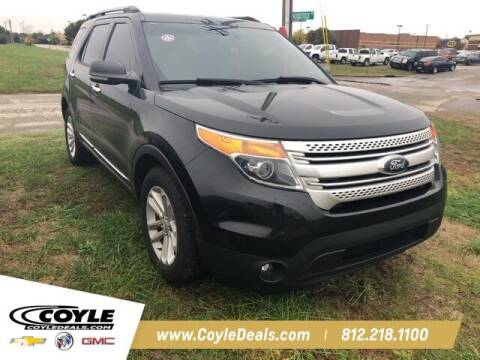 2013 Ford Explorer for sale at COYLE GM - COYLE NISSAN in Clarksville IN
