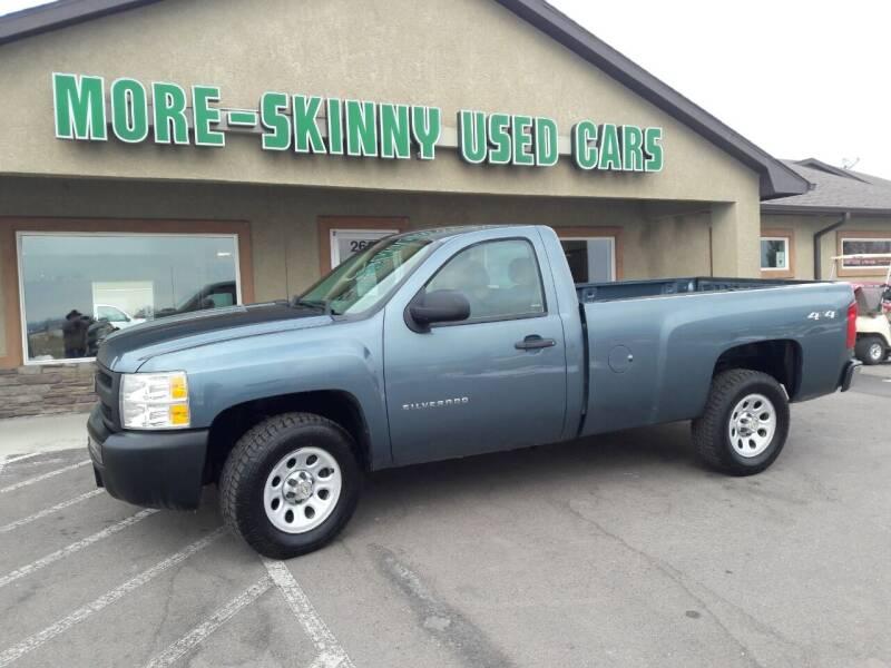 2013 Chevrolet Silverado 1500 for sale at More-Skinny Used Cars in Pueblo CO
