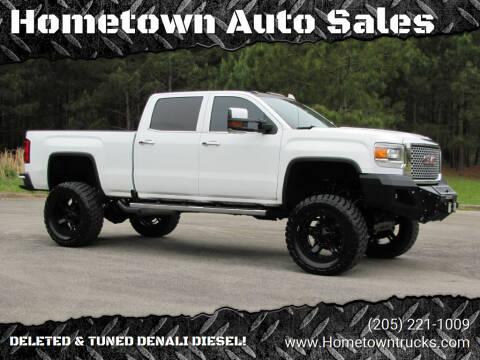 2016 GMC Sierra 2500HD for sale at Hometown Auto Sales - Trucks in Jasper AL