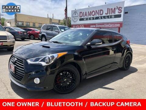 2014 Hyundai Veloster for sale at Diamond Jim's West Allis in West Allis WI