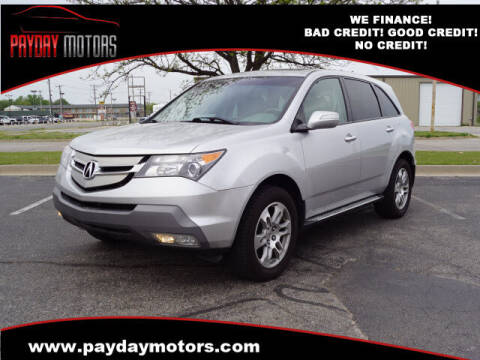 2009 Acura MDX for sale at Payday Motors in Wichita And Topeka KS