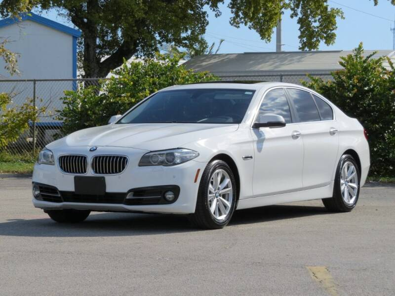 2015 BMW 5 Series for sale at DK Auto Sales in Hollywood FL