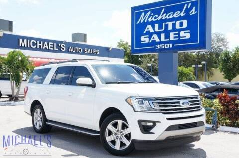 2018 Ford Expedition MAX for sale at Michael's Auto Sales Corp in Hollywood FL