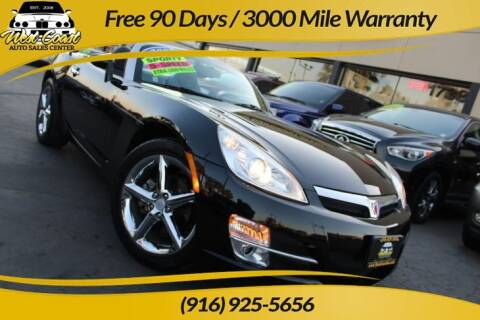 2007 Saturn SKY for sale at West Coast Auto Sales Center in Sacramento CA