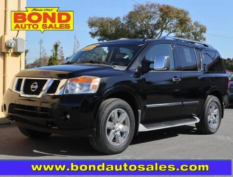 2010 Nissan Armada for sale at Bond Auto Sales in St Petersburg FL