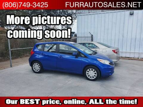 2014 Nissan Versa Note for sale at FURR AUTO SALES in Lubbock TX