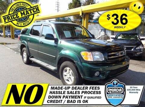 2004 Toyota Sequoia for sale at AUTOFYND in Elmont NY