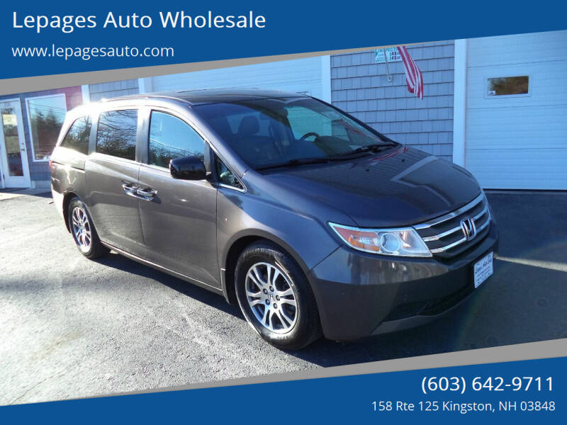 2012 Honda Odyssey for sale at Lepages Auto Wholesale in Kingston NH
