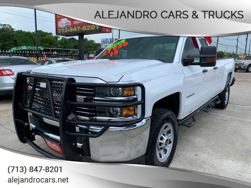2015 Chevrolet Silverado 2500HD for sale at Alejandro Cars & Trucks Inc in Houston TX