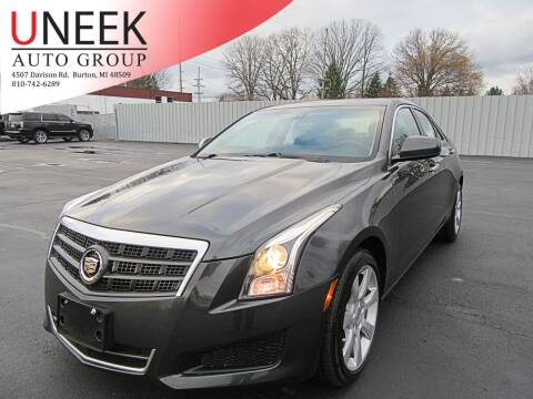2014 Cadillac ATS for sale at Uneek Auto Group LLC in Burton MI