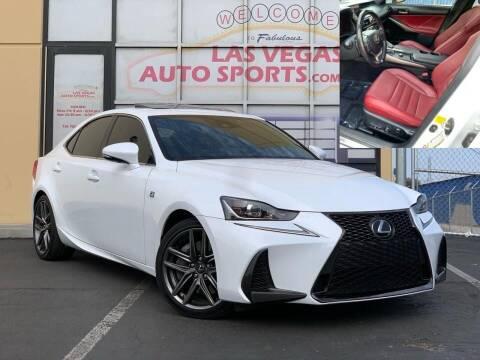2017 Lexus IS 200t for sale at Las Vegas Auto Sports in Las Vegas NV