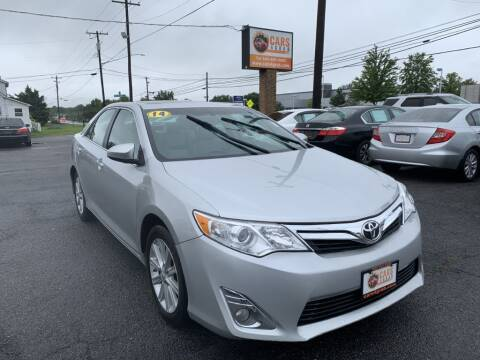 2014 Toyota Camry for sale at Cars 4 Grab in Winchester VA