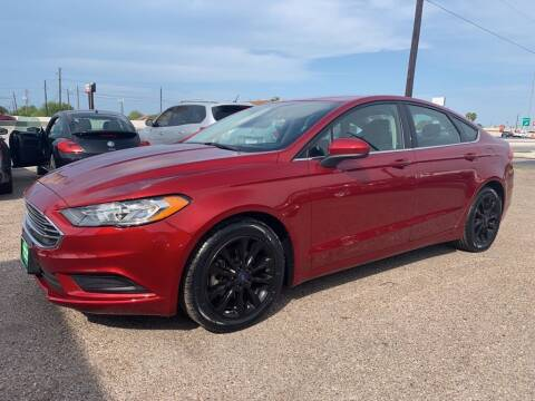 2017 Ford Fusion for sale at Primetime Auto in Corpus Christi TX