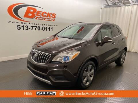 2014 Buick Encore for sale at Becks Auto Group in Mason OH