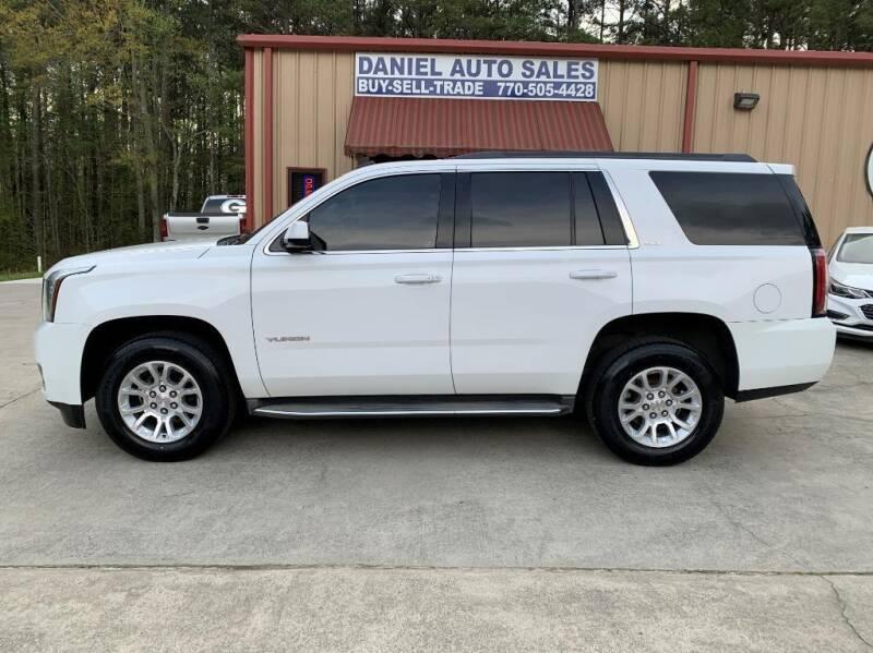 2015 GMC Yukon for sale at Daniel Used Auto Sales in Dallas GA