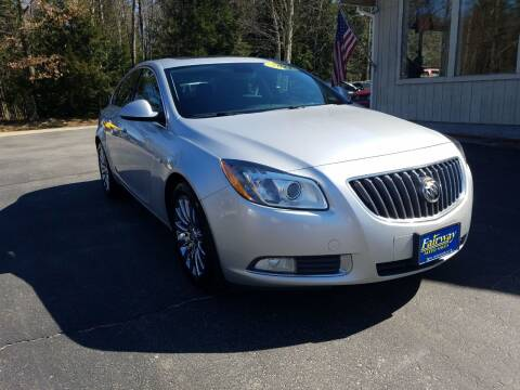 2011 Buick Regal for sale at Fairway Auto Sales in Rochester NH