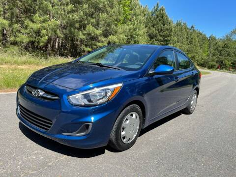 2017 Hyundai Accent for sale at Carrera AutoHaus Inc in Clayton NC