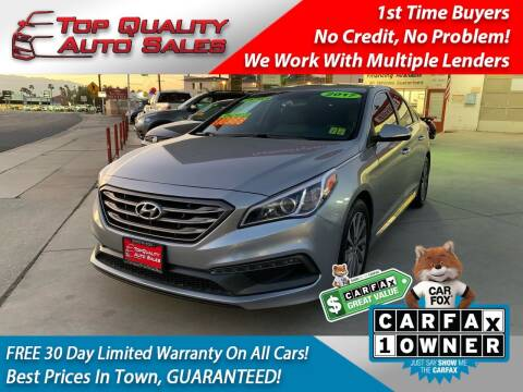 2017 Hyundai Sonata for sale at Top Quality Auto Sales in Redlands CA