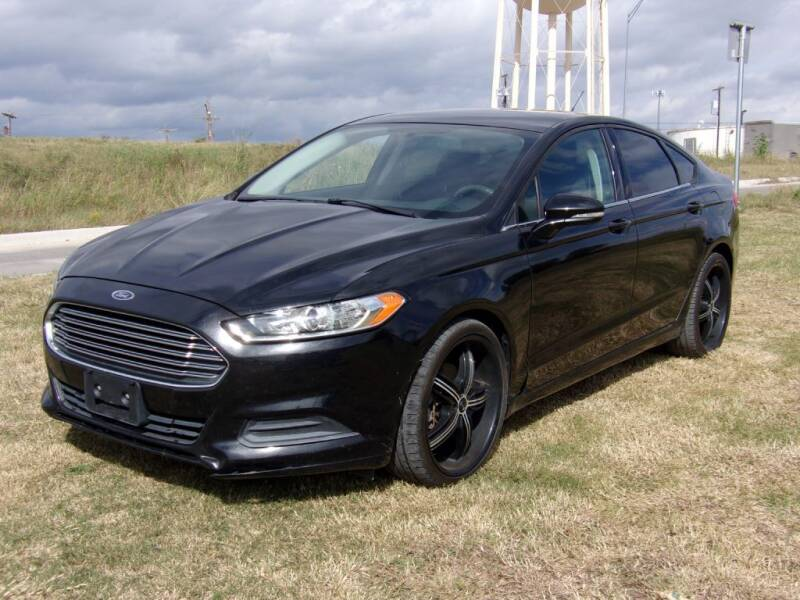 2013 Ford Fusion for sale at Brannan Auto Sales in Gainesville TX
