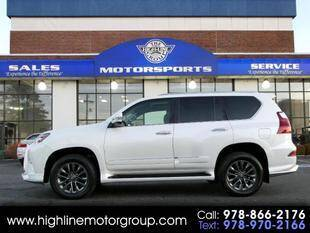 2018 Lexus GX 460 for sale at Highline Group Motorsports in Lowell MA