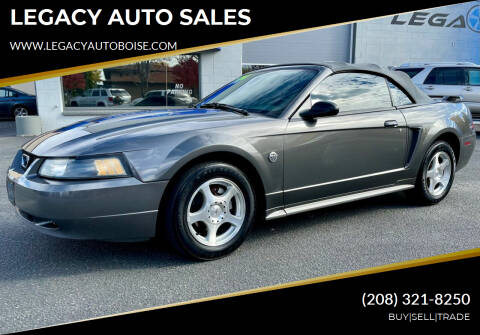 2004 Ford Mustang for sale at LEGACY AUTO SALES in Boise ID