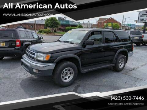 1999 Toyota 4Runner for sale at All American Autos in Kingsport TN