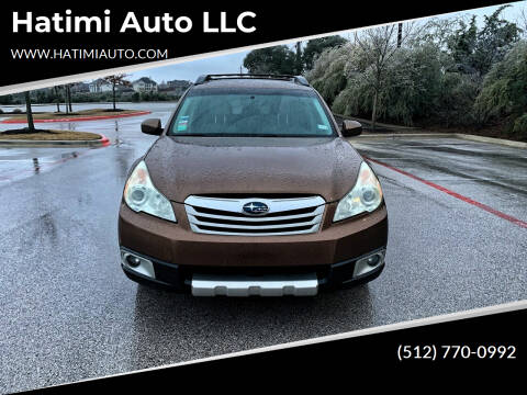 2011 Subaru Outback for sale at Hatimi Auto LLC in Buda TX