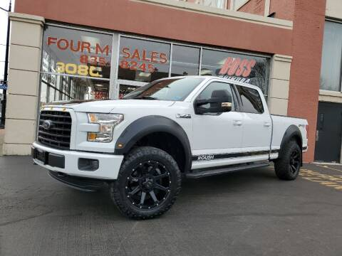 2016 Ford F-150 for sale at FOUR M SALES in Buffalo NY