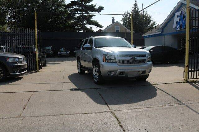 2012 Chevrolet Tahoe for sale at F & M AUTO SALES in Detroit MI