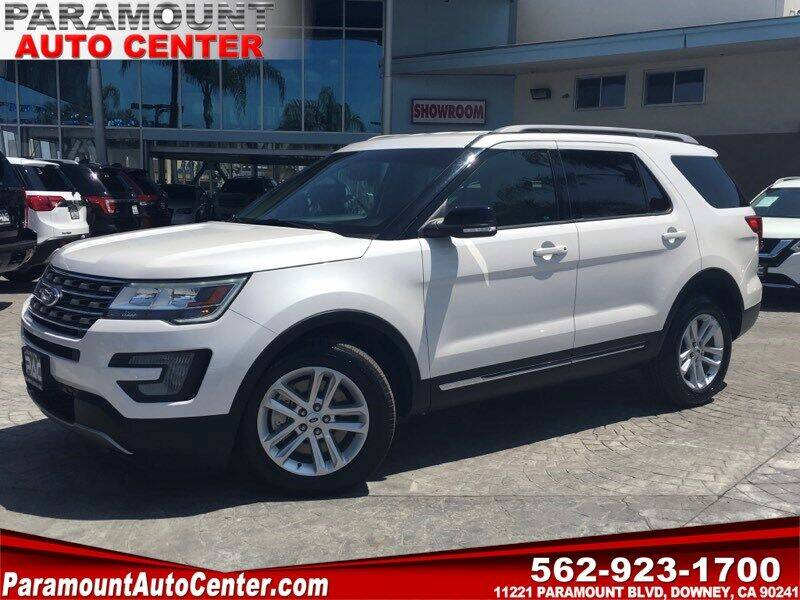 2017 Ford Explorer for sale at PARAMOUNT AUTO CENTER in Downey CA