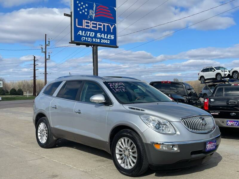 2009 Buick Enclave for sale at Liberty Auto Sales in Merrill IA