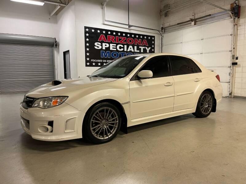 2013 Subaru Impreza for sale at Arizona Specialty Motors in Tempe AZ